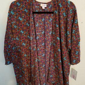 Lularoe - Lindsay kimona - Size Medium - NWT